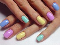 Двухцветный маникюр: красивые варианты дизайна ногтей и советы как подобрать цвета правильно. 140 фото стильных решений сезона