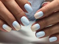 Голубой маникюр — актуальные идеи, красивые сочетания и модные тенденции. 105 фото и видео примеры использования голубого в маникюре