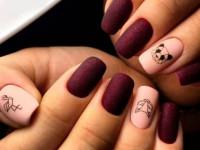 Маникюр на квадратные ногти — особенности модного дизайна и красивые варианты оформления (85 фото и видео)