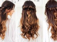 Прически с распущенными волосами — модные красивые идеи, оригинальные варианты причесок и обзор актуальных моделей (105 фото)