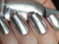 Серебристый маникюр — советы мастеров, тенденции, 70 фото-новинок. Однотонное покрытие, дизайн нескольких ногтей, серебристые элементы дизайна