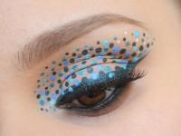 Синий макияж — техники нанесения смелого макияжа. Секреты визажистов, как сделать актуальный вариант. 90 фото стильных идей для волшебных образов