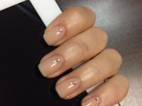Телесный маникюр — идеи красивого дизайна и особенности украшения ногтей своими руками (105 фото)