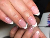 Укрепление ногтей пудрой — особенности укрепления ногтевой пластины и правила нанесения пудры (110 фото)