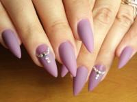 Маникюр на острые ногти: оригинальные новинки дизайна и красивые сочетания для острых ногтей (110 фото и видео)