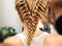 Прически с косами: стильные идеи плетения и красивые варианты укладки волос с применением кос (145 фото)