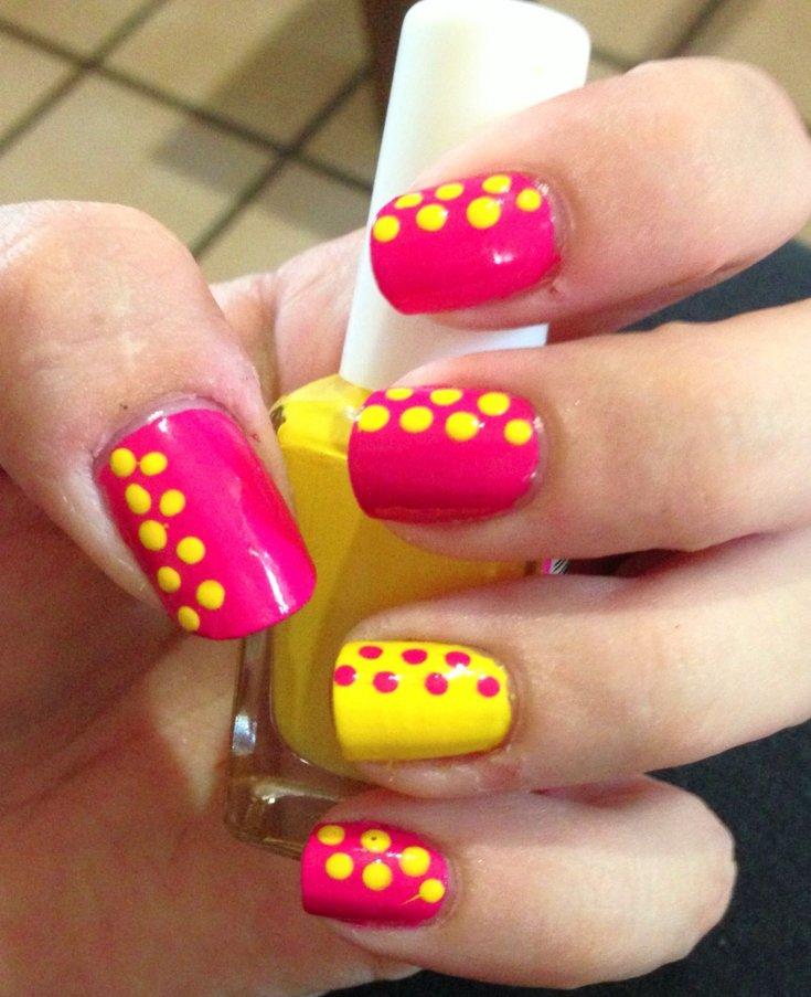 картинки ногти летние легко и быстро обычно