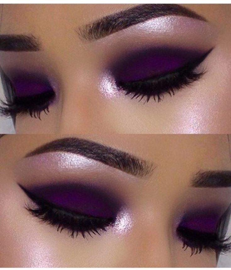 расскажите, макияж в фиолетовых тонах пошаговое фото днем танкиста ребят