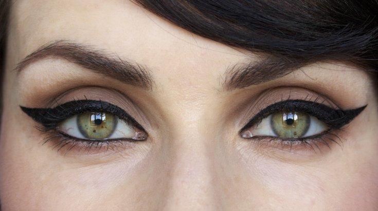 Кошачий макияж - 95 фото красивых вариантов оформления глаз своими руками