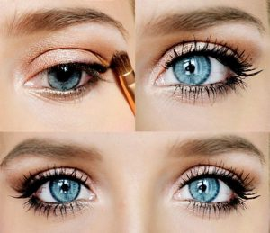 Простой макияж глаз на каждый день