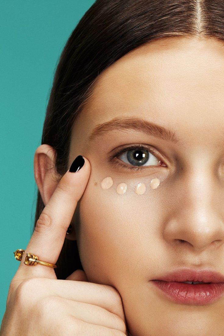 Как убрать косметикой мешки под глазами. Как замаскировать мешки под глазами, отеки и синяки