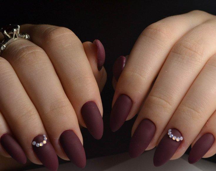 Матовый маникюр 2020-2021 года: модный дизайн матовых ногтей, фото-новинки и идеи матового нейл-арта