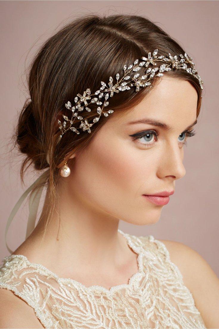 Какие свадебные прически с ободком выбрать на разную длину волос, варианты для фото?