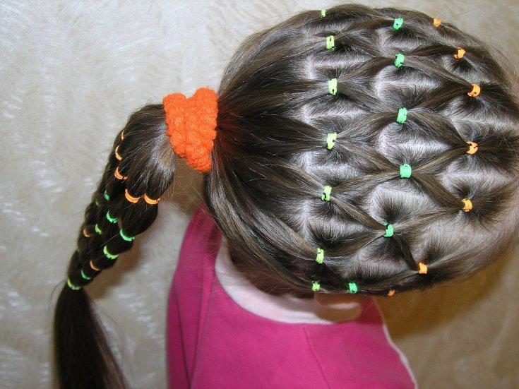 Сеточка из волос картинки