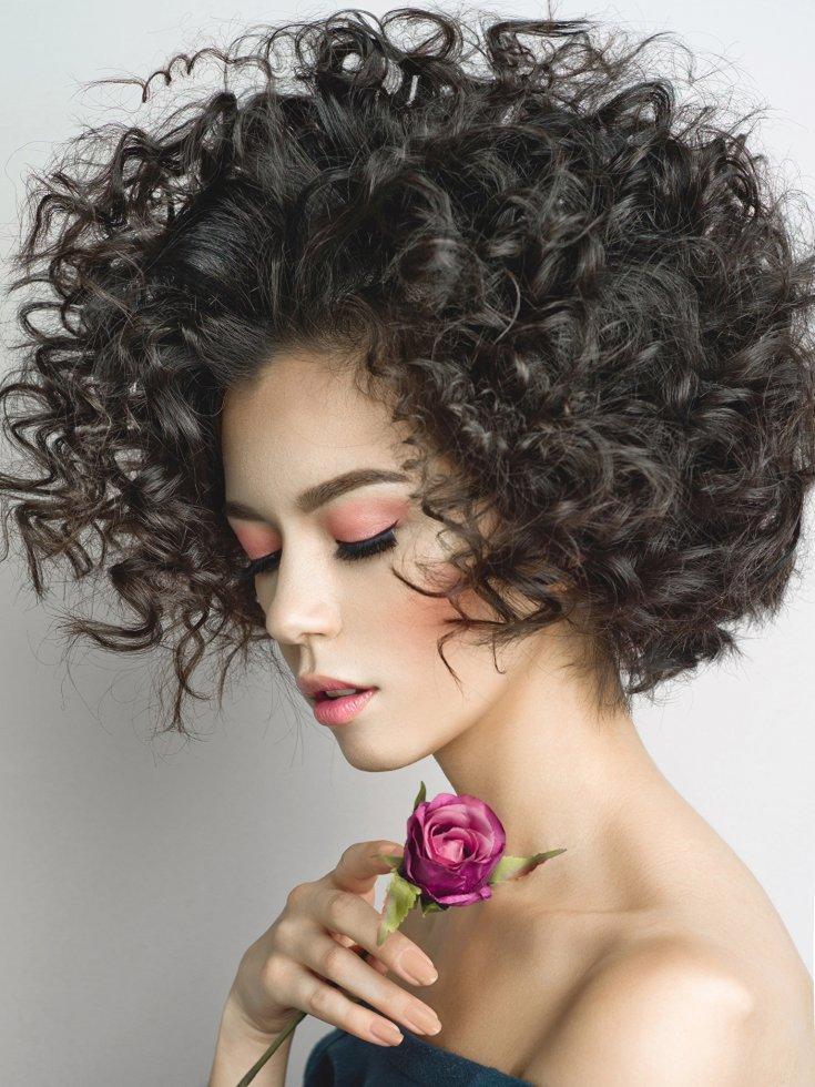 картинки причесок для вьющихся волос изделия оцинкованной