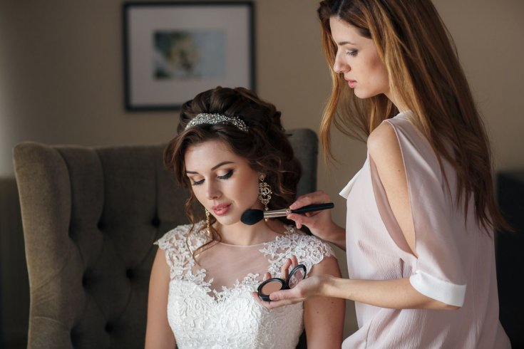 Свадебный макияж для брюнеток с фото