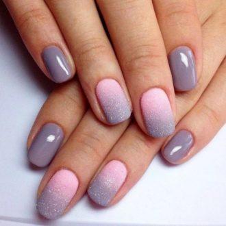 Маникюр омбре — 115 фото идей модных новинок дизайна ногтей и варианты градиентного украшения