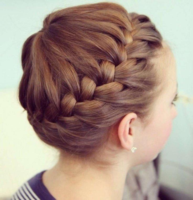 Легкое плетение волос картинки